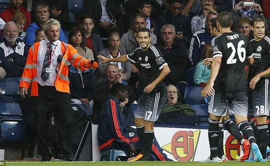 Pedro nổ súng, Chelsea thắng nhọc ở The Hawthorns