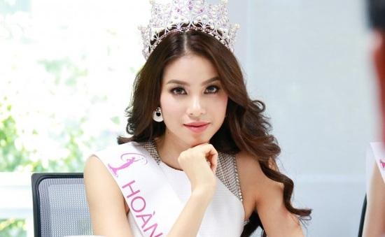 Hoa hậu Phạm Hương: Quá bận để nghĩ tới đàn ông