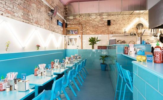 Nhà hàng Việt tại Melbourne lộng lẫy trong sắc xanh