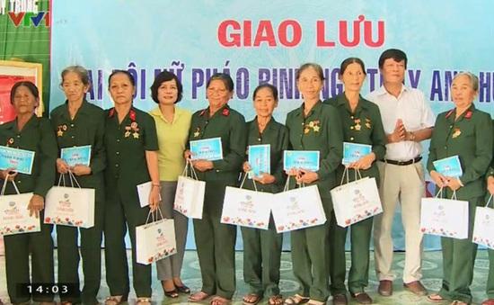 Quảng Bình: Giao lưu Đại đội nữ pháo binh Ngư Thủy