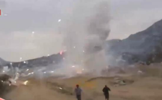 Gần 2 tấn pháo hoa lậu phát nổ tại Peru