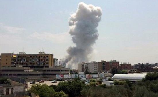 Italy: Nổ nhà máy pháo hoa khiến nhiều người thương vong