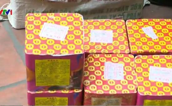 Hà Nội: Bắt giữ gần 50kg pháo lậu từ Trung Quốc