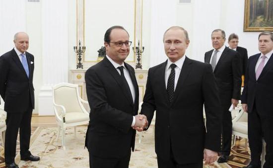 Nga - Pháp hợp tác trong cuộc chiến chống IS
