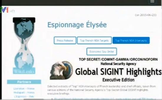 Wikileaks: Bộ trưởng Tài chính và DN Pháp bị NSA theo dõi