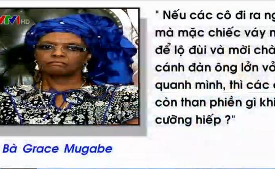 Đệ nhất phu nhân Zimbabwe gây phẫn nộ vì phát ngôn thiếu cẩn trọng