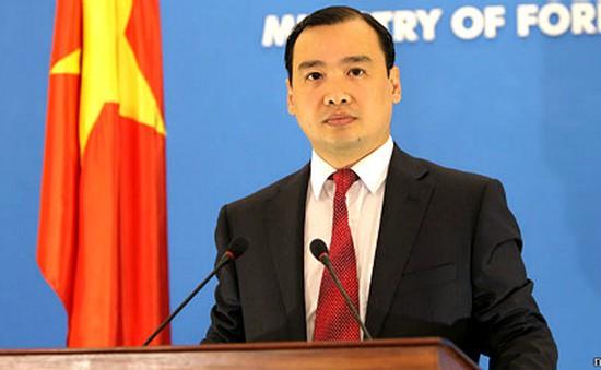 Việt Nam hoan nghênh nỗ lực quốc tế nhằm gìn giữ hòa bình trên Biển Đông