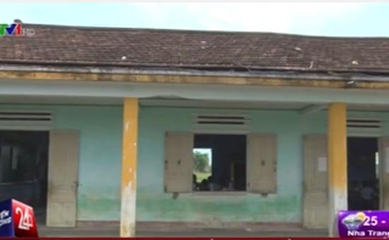 Phòng học tại Quảng Nam xuống cấp trầm trọng