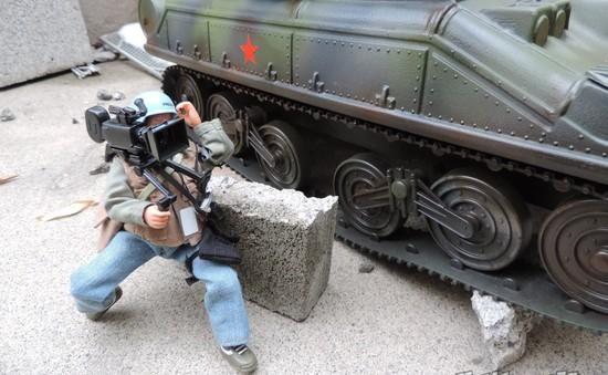 Phóng viên chiến trường - Những chiến sỹ cầm bút quả cảm