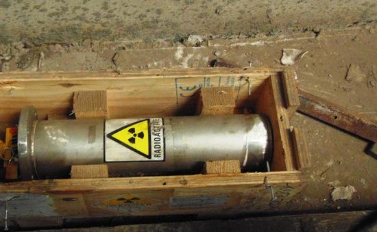 Truy tìm khẩn cấp thiết bị phóng xạ thất lạc