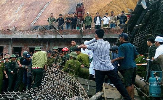 Sập công trình trạm xăng ở Hà Tĩnh: Do giàn giáo mất khả năng chịu lực