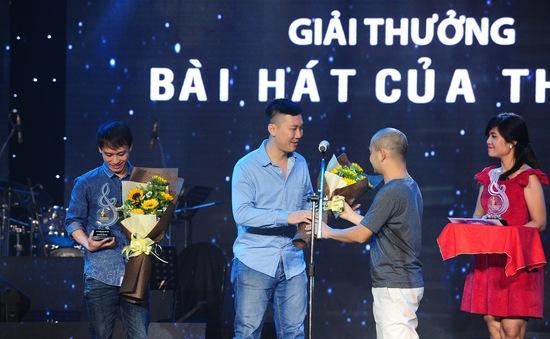 Bài hát Việt tháng 12 tiếp tục trao 2 giải Bài hát của tháng