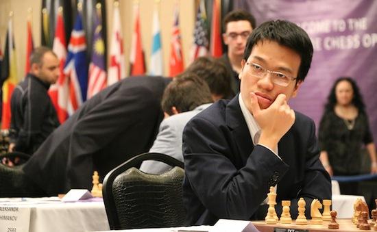 Lê Quang Liêm dẫn đầu Giải cờ vua Triệu phú tại Mỹ