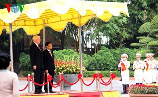 Tổng thống Cộng hòa Iceland thăm cấp Nhà nước tới Việt Nam