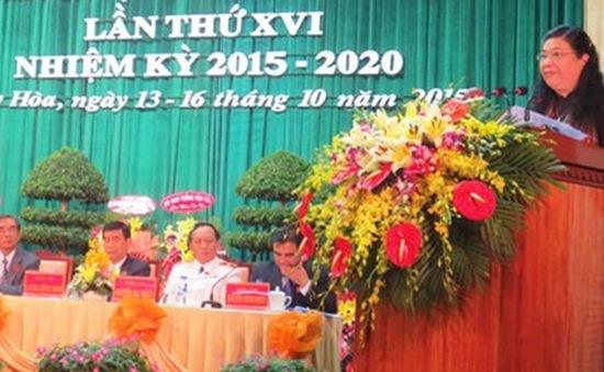 Khai mạc Đại hội đại biểu Đảng bộ tỉnh Phú Yên lần thứ XVI