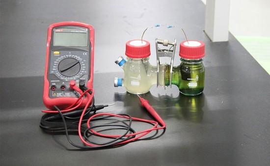 Trung Quốc phát triển pin nhiên liệu vi sinh vật