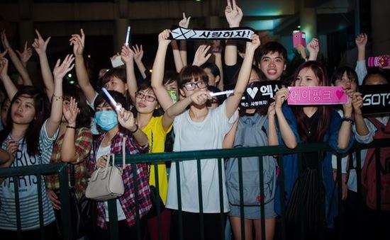 Đại nhạc hội Music Bank sôi động trước giờ G