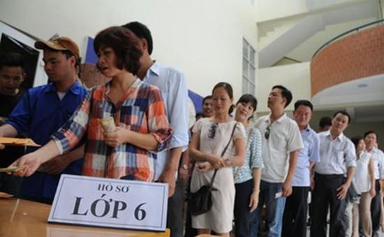 Hà Nội: Một số trường mở bán hồ sơ vào lớp 6
