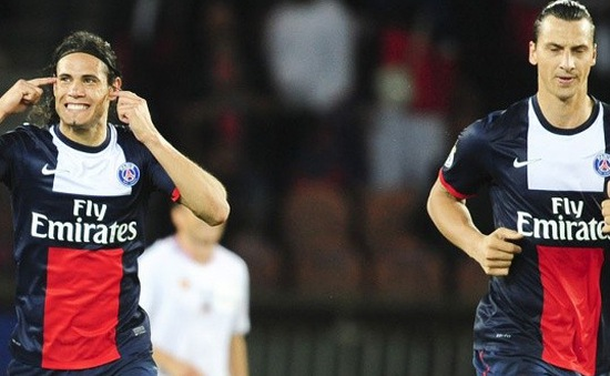 """Cavani phủ nhận chuyện """"ghen ăn, tức ở"""" với Ibrahimovic"""