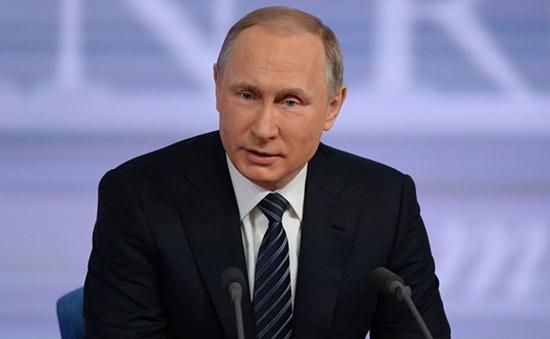 Tổng thống Nga bắt đầu cuộc họp báo thường niên 2015