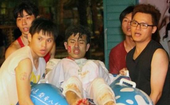 """Xịt bột màu - """"thủ phạm"""" gây vụ cháy nổ ở công viên Đài Loan"""