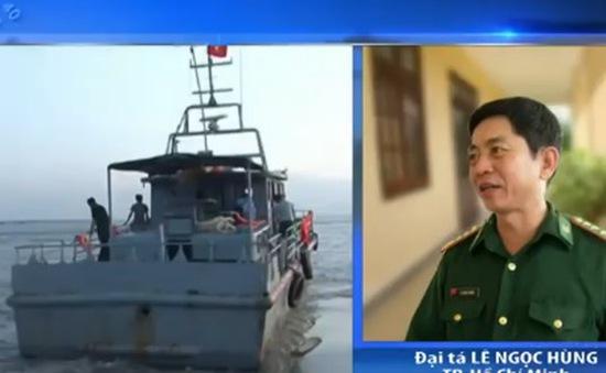 Chìm tàu ở TP.HCM: Đã cứu được thuyền viên mất tích đầu tiên