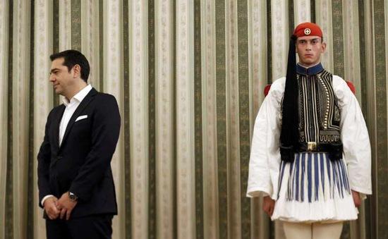 Ông Tsipras tuyên thệ nhậm chức thủ tướng Hy Lạp