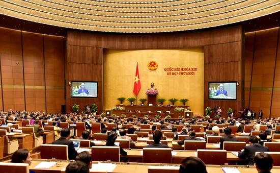 Quốc hội thông qua bộ luật Tố tụng dân sự và luật Tố tụng hành chính (sửa đổi)