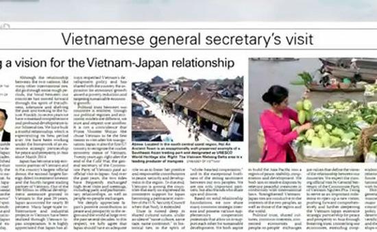 Sự tin cậy chính trị giữa Việt Nam - Nhật Bản là điểm sáng nổi bật