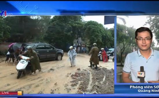 Mưa lũ tại Quảng Ninh: Di dời gần 1.500 hộ dân đến nơi an toàn