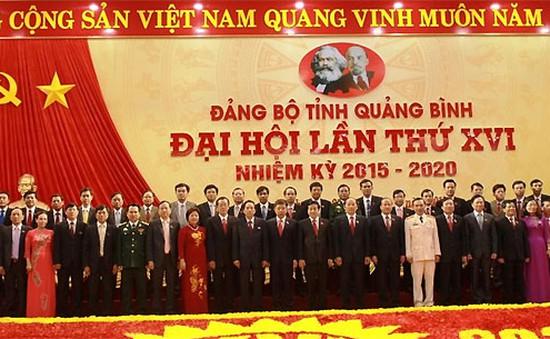 Bế mạc Đại hội Đảng bộ tỉnh Quảng Bình