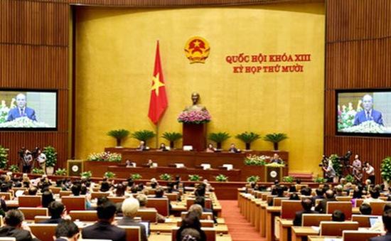 Quốc hội thảo luận về dự thảo Luật hoạt động giám sát của Quốc hội và HĐND