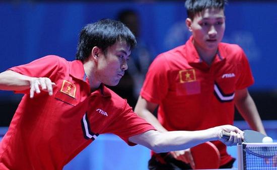 Đôi Tuấn Quỳnh - Anh Tú giành quyền vào vòng 3 giải vô địch châu Á