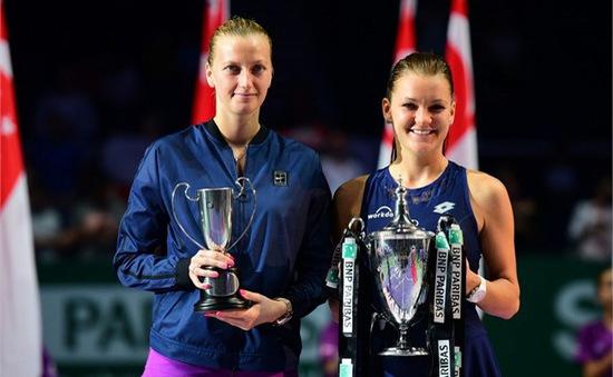 Xuất sắc hạ Kvitova, Radwanska lần đầu đăng quang WTA Finals