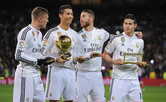 Các CLB thể thao đắt giá nhất thế giới năm 2015: Real Madrid vẫn vô đối