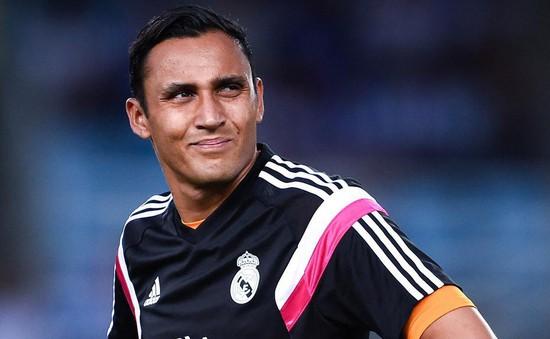 Thủ thành số 1 Real Madrid khóc khi không thể cập bến Man Utd