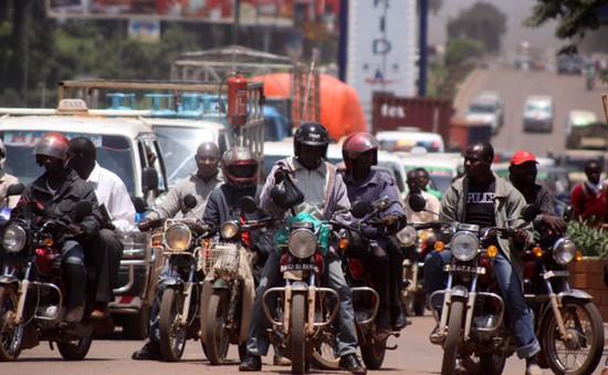 Uganda phát triển dịch vụ xe ôm an toàn