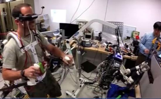 Mỹ: Sáng tạo robot nhại động tác con người