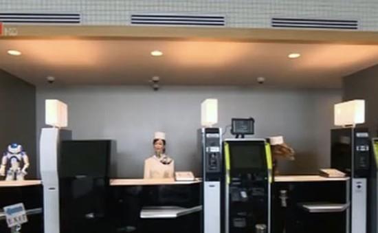 Khám phá khách sạn robot ở Nhật Bản