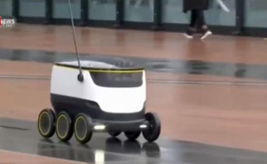 Robot giúp vận chuyển quà cho ông già Noel