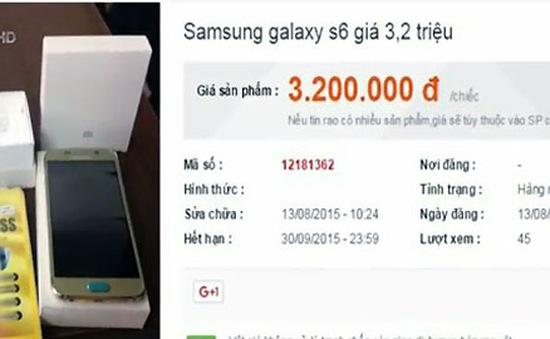 Galaxy S6 8GB phiên bản Đài Loan (Trung Quốc) là hàng nhái