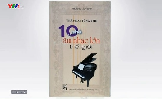 """Sách hay: """"10 nhà âm nhạc lớn thế giới"""""""