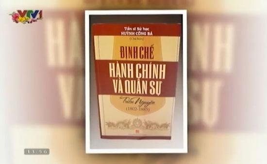 """Sách hay: """"Định chế hành chính và quân sự triều Nguyễn"""""""