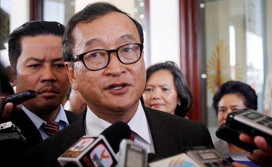 Campuchia tước bỏ tư cách Nghị sỹ của ông Sam Rainsy Chủ tịch đảng Cứu quốc đối lập
