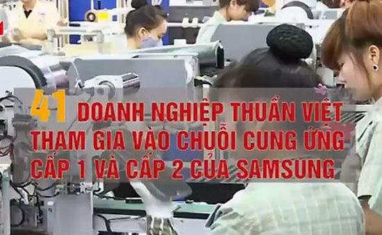 Tỷ lệ nội địa hóa sản phẩm của Samsung là 36%