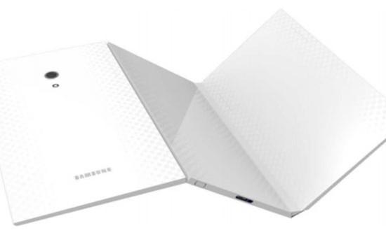 Samsung sẽ ra mắt máy tính bảng gập đôi?