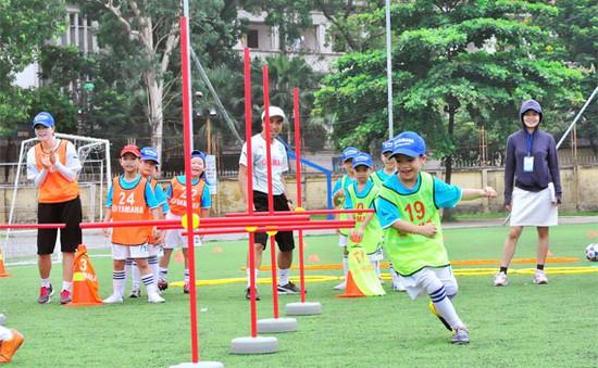 Thiếu nhi Hà Nội háo hức với Trại hè bóng đá Yamaha