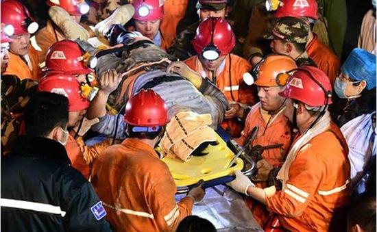 Sập hầm thạch cao ở Trung Quốc: Vẫn còn 14 người mắc kẹt