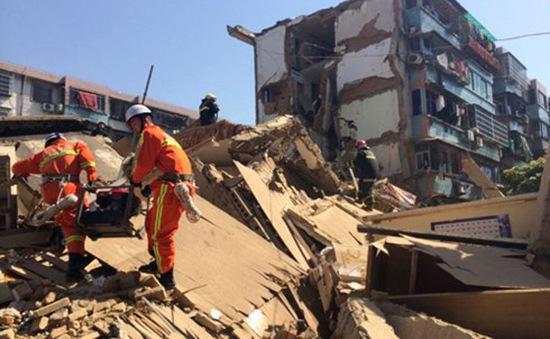 Sập nhà tại Trung Quốc, 40 người thương vong