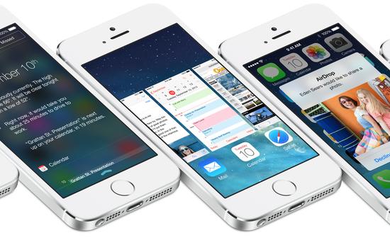 iOS 9 vẫn xếp sau iOS 7